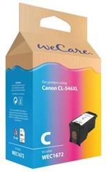 Inktcartridge WECARE CL-546XL kleur HC (Canon).