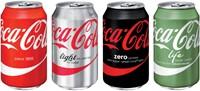 Frisdrank Coca Cola Regular blikje 0.33 liter.-2