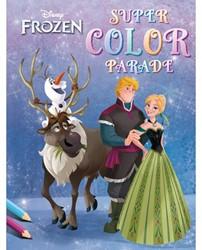 Kleurboek Deltas Frozen super color parade.