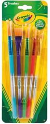 Penseel Crayola 5 stuks.
