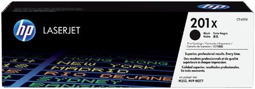 Toner HP CF400X 201X zwart.