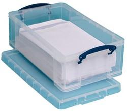 Opbergbox Really Useful 12 liter 465x270x155mm (bxdxh).