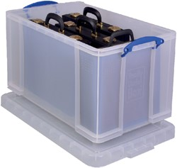 Opbergbox Really Useful 84 liter 710x440x380mm (bxhxd).