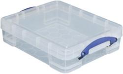 Opbergbox Really Useful 11 liter 450x350x120mm (bxdxh).