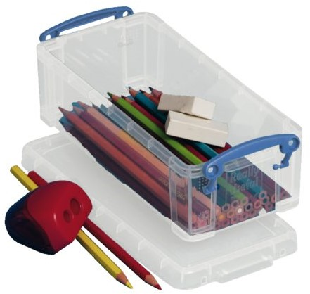 Opbergbox Really Useful 0.90 liter 220x100x70mm (bxhxd).