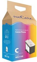 Inktcartridge WECARE CL-41 kleur (Canon).