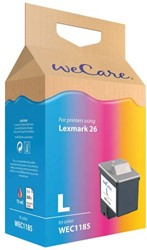 Inktcartridge WECARE 10N0026 26 kleur (Lexmark).