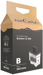 Inktcartridge WECARE LC-900 zwart (Brother).