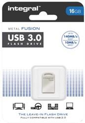 USB-Stick Intergal FD 16Gb Metal Fusion 3.0.