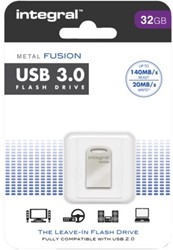 USB-Stick Intergal FD 32Gb Metal Fusion 3.0.