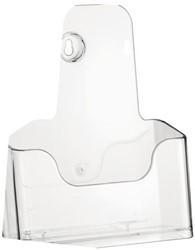 Folderhouder Nedco 37720 1xA5 staand/hangend transparant.