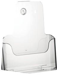 Folderhouder Nedco 37700 1xA4 staand/hangend transparant.