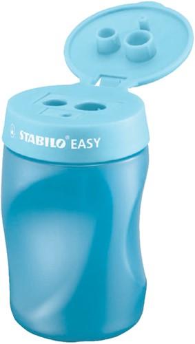 Puntenslijper Stabilo Easy 4502/2 rechtshandig blauw.