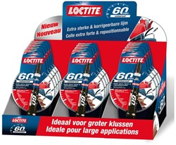 Alleslijm Loctite 60 sec 20gr display.