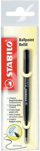 Balpenvulling Stabilo standaard zwart. Afname per 10 stuks.