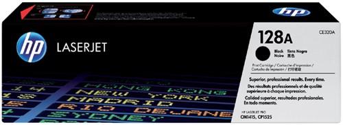 Toner HP CE320A 128A zwart.
