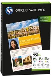 Inkcartridge HP CR712AE 951XL 3 kleuren HC+A4 papier