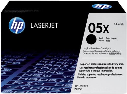 Toner HP CE505X 05X zwart HC.