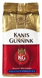 Koffie Kanis & Gunnink snelfiltermaling rood 1000 gram.