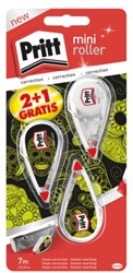 Correctieroller Pritt Mini 4.2mm 2+1 gratis monster