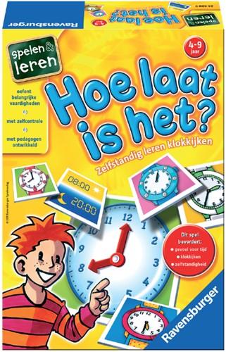 Spel Ravensburger Hoe laat is het.