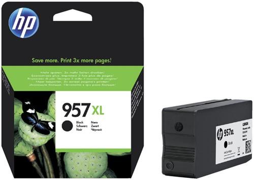 Inktcartridge HP 957XL L0R40AE zwart HC.