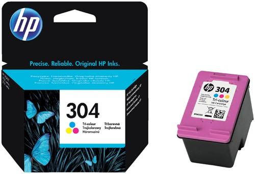 Inktcartridge HP 304 N9K05AE kleur.