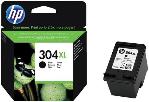 Inktcartridge HP 304XL N9K08AE zwart.