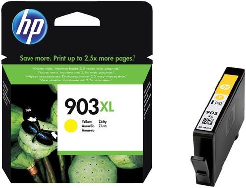 Inktcartridge HP 903XL T6M11AE geel HC.