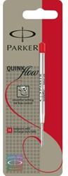 Balpenvulling Parker Quinkflow rood medium
