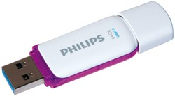 USB-stick 3.0 Philips Snow 64GB paars.