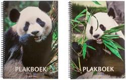 Plakboek Papyrus 23x33cm panda.