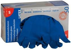 Handschoen huishoud high risk blauw extra large 50 stuks.
