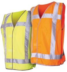 Veiligheidsvest QW3 fluor oranje.