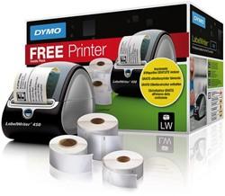Labelprinter Dymo LabelWriter LW450 bundelpack inclusief etiketten.