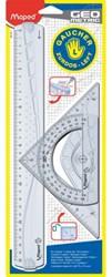 Tekenset Maped 3-delig linkshandig. Afname per 20 stuks.