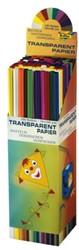 Vliegerpapier folia 70x100cm 42 gram assorti kleuren.