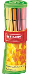 Viltstift Stabilo 68 Fan Edition 25 stuks ass.
