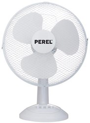 Tafelventilator Perel 40cm 40W 3-snelheden wit.