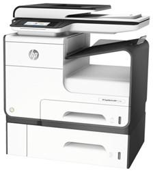 All-in-one inkjet printer HP Pagewide Pro 477DWT met extra papierlade voor 500 vel.