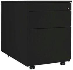 Ladenblok 1 lade en 1 hangmappenlade zwart.