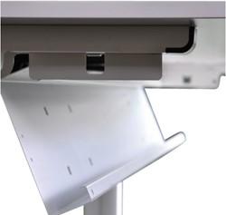 Kabelgoot NPO universeel 120cm aluminiumlook.
