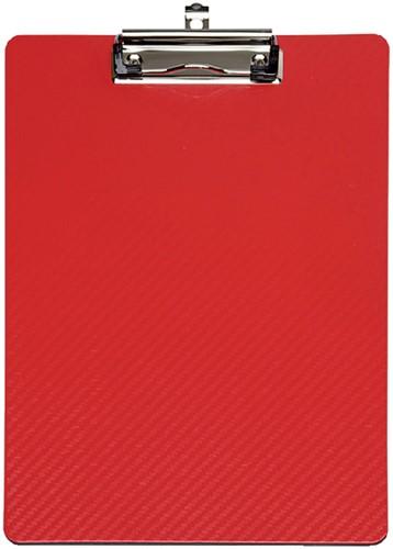 Klembord Maul Flexx A4 staand met klem rood.