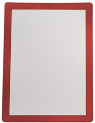 Zichtframe Flex-O-Frame Sign 7970015 2 stuks zelfklevend A4 rood. Afname per 3 blisters.