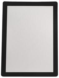 Zichtframe Flex-O-Frame Sign 7970019 2 stuks A4 zwart. Afname per 3 blisters.