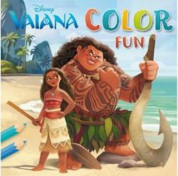Kleurboek Disney Vaiana color fun.