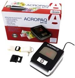 Valsgeld detector Acropaq AT110 grijs zwart.