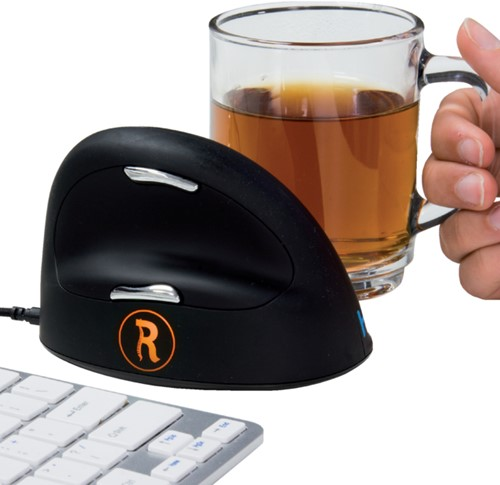 Muis R-go Break medium ergonomisch model rechtshandig USB.