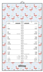 Omlegweekkalender 2018 Foqus flamingo.