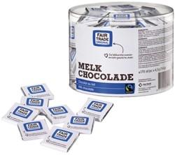 Koekjes chocolade Fairtrade Care melk 170 stuks.